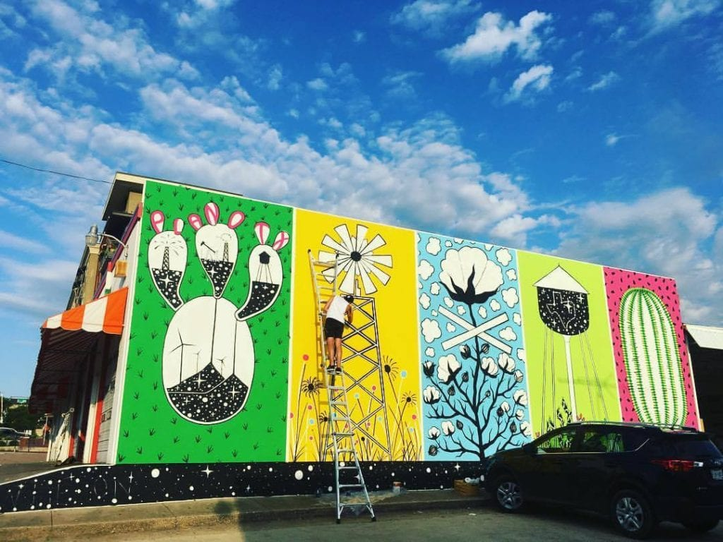 the downtown mural project historic downtown plano arts district